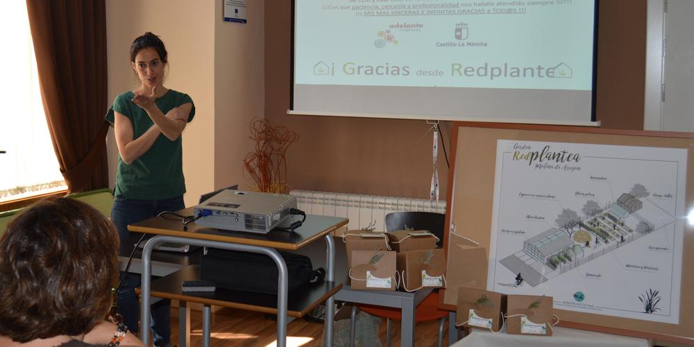El Gobierno de Castilla-La Mancha muestra su apoyo a iniciativas empresariales de autoempleo como 'RedPlantea' en Molina de Aragón