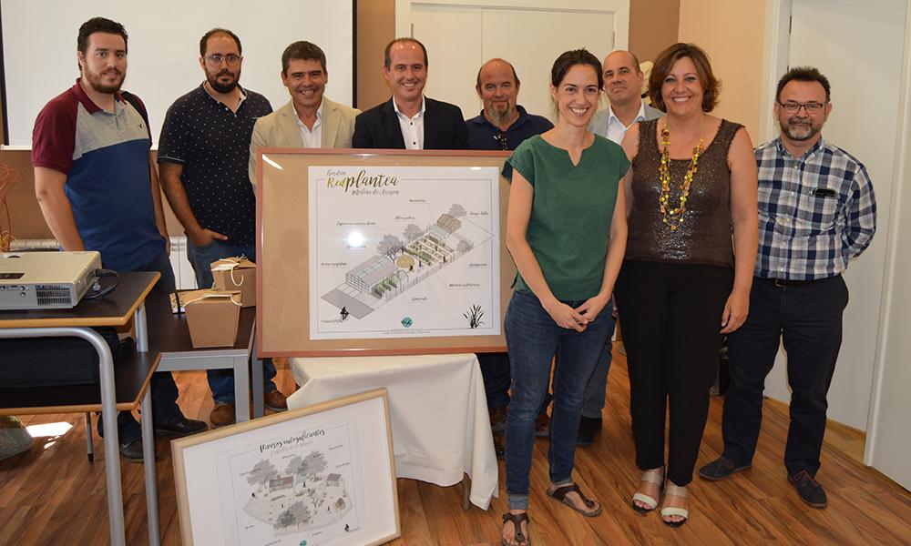 El Gobierno de Castilla-La Mancha muestra su apoyo a iniciativas empresariales de autoempleo como 'RedPlantea' en Molina de Aragón.